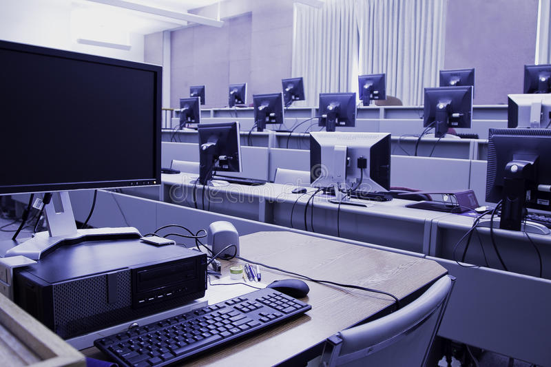 Download Computer Lab stock photo. Image of science, classroom - 30824520