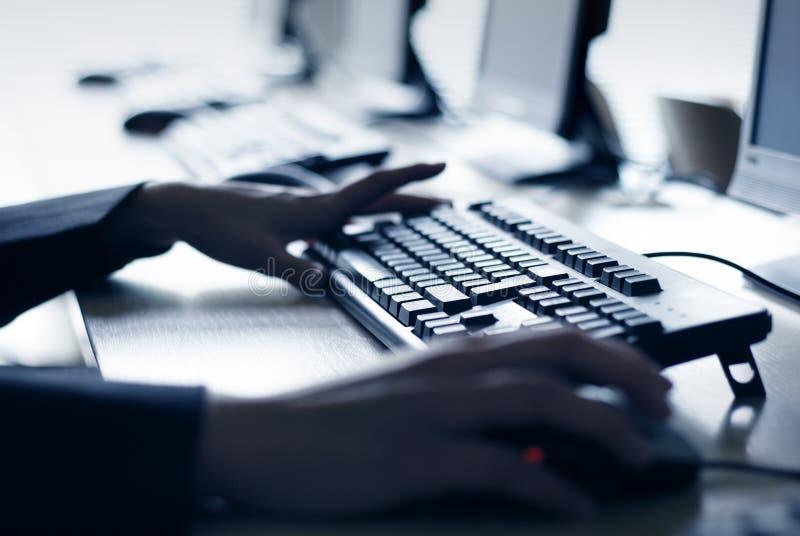 Computer-Labor stockfotos