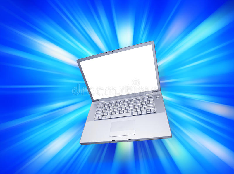 Download Computer Laptop Blank stock illustration. Image of white - 10433847