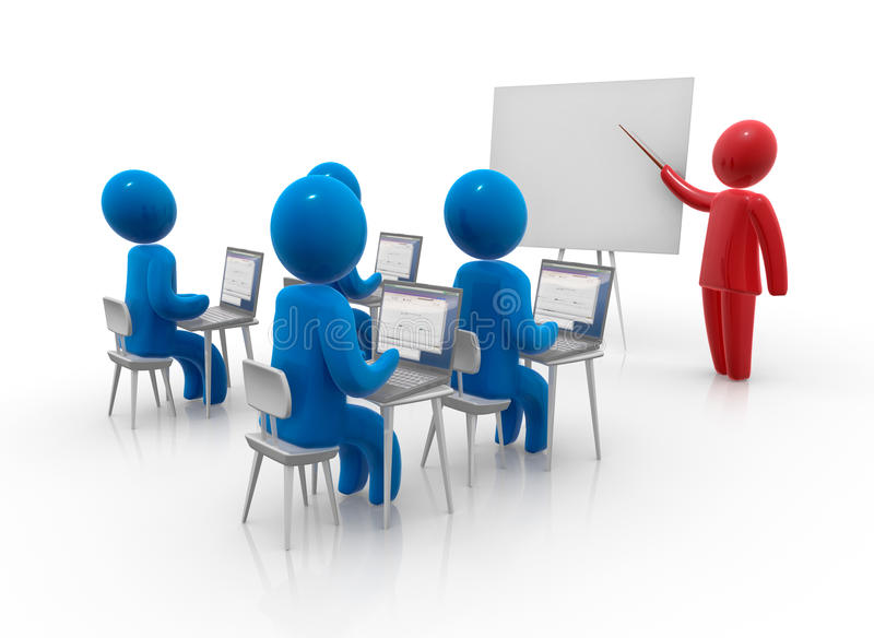 Download Computer Learning Stock Photo - Image: 10527770