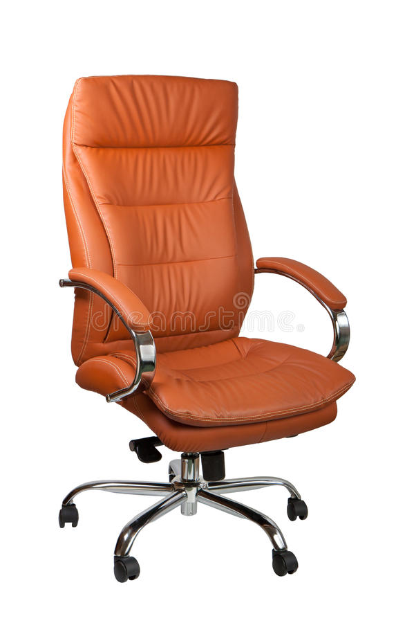 Computer Leather Chair Stock Images