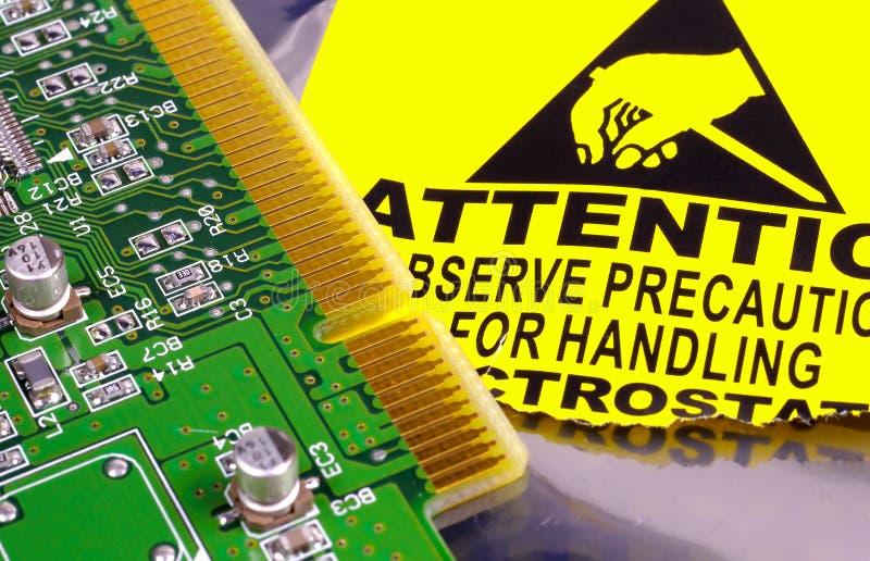 Computer-Leiterplatte stockbilder
