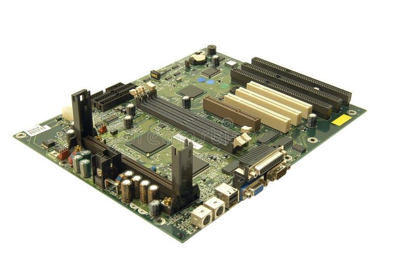Computer mainboard stock afbeelding