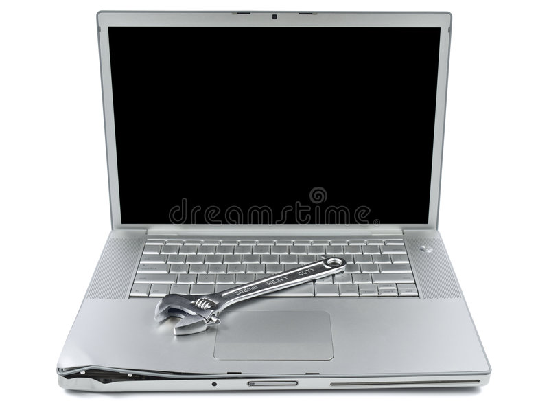 Download Computer maintenance stock image. Image of notebook, crashed - 8639121