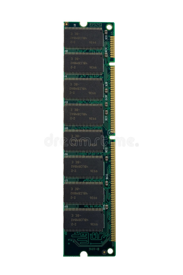 Computer memory - SDRAM. Macro - very high resolution stock photos
