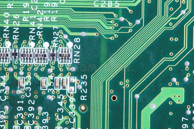 computer micro- kringsraad stock afbeeldingen