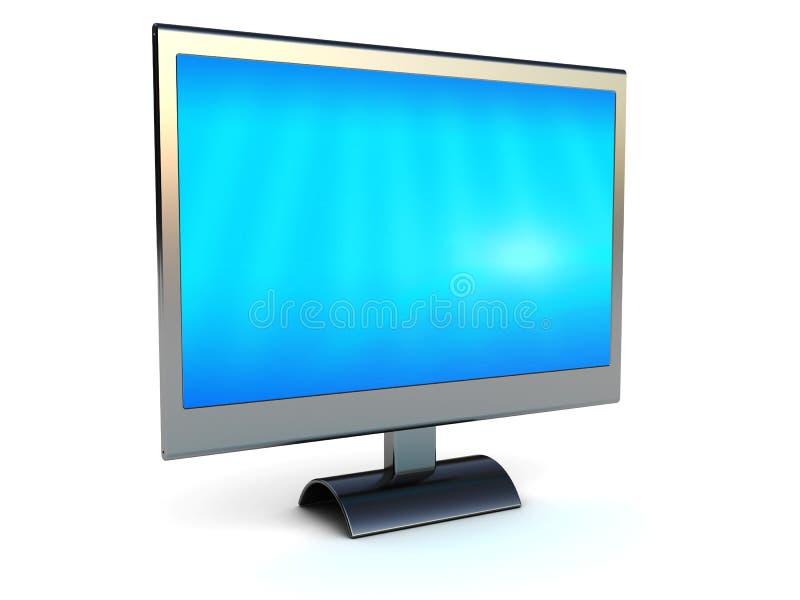 Download Computer monitor stock illustration. Image of slluminium - 12877451