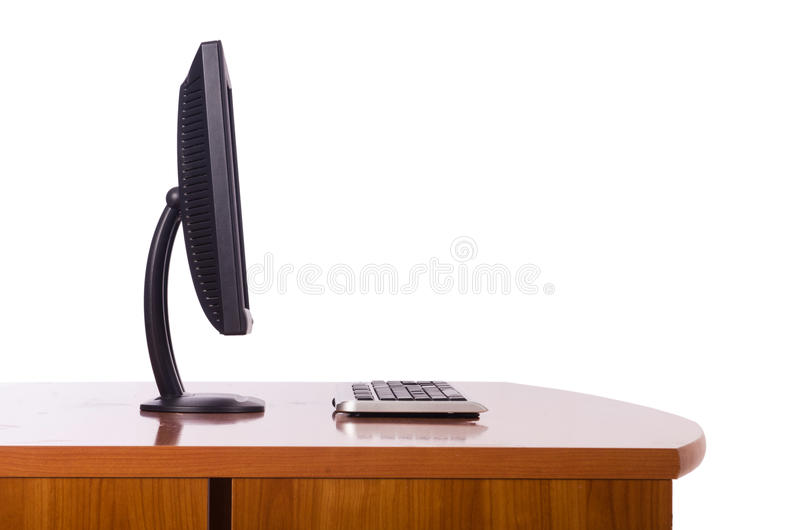 Download Computer monitor stock image. Image of table, digital - 29209997