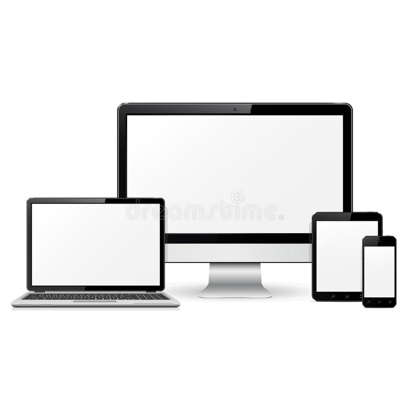 Computer monitor laptop tablet pc and mobile phone template for download computer monitor laptop tablet pc and mobile phone template for responsive design presentation pronofoot35fo Gallery