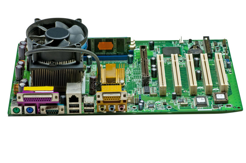 Download Computer motherboard stock photo. Image of computer, component - 17903250