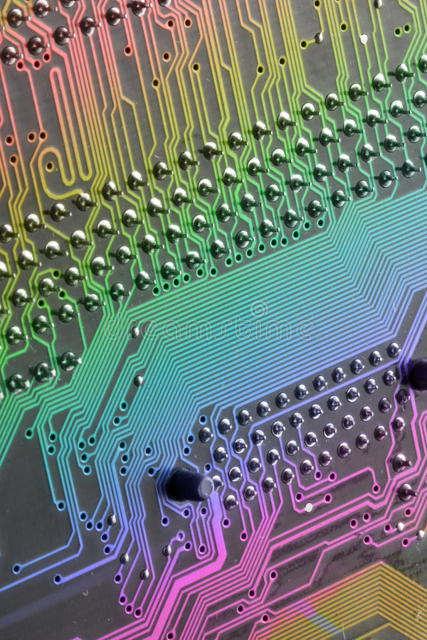 Computer-motherboard royalty free stock photo