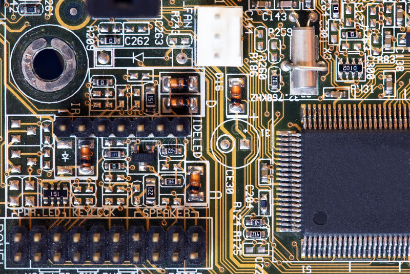 Computer motherboard - circuits