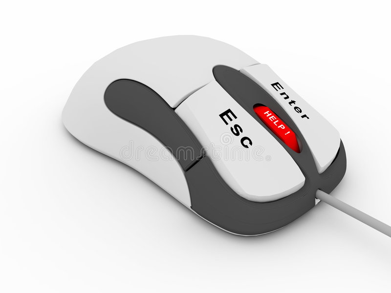 Download Computer mouse stock illustration. Image of connection - 6948474