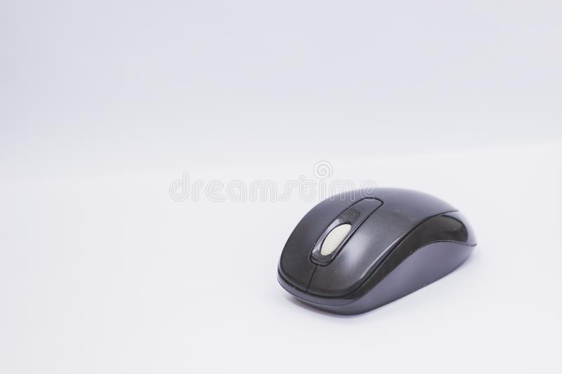 Computer Mouse button technology wireless royalty free stock photos