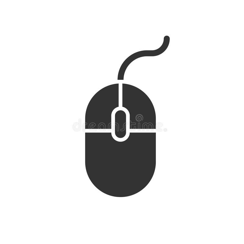 Computer Mouse icon. Vector illustration. Business concept mouse vector illustration