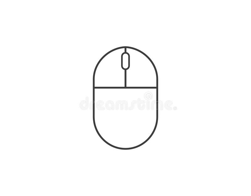 Computer Mouse icon. Vector illustration, flat design. Vector illustration, flat design. Computer Mouse icon vector illustration