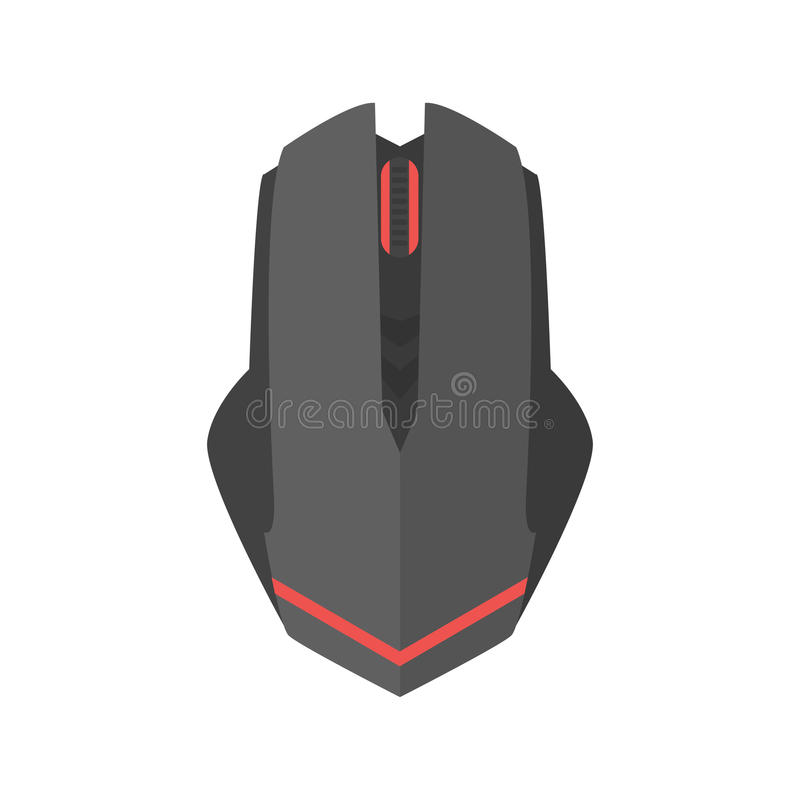 Computer mouse icon vector scrolling equipment. Computer mouse icon vector illustration. Flat design business button click internet technology. Modern vector illustration