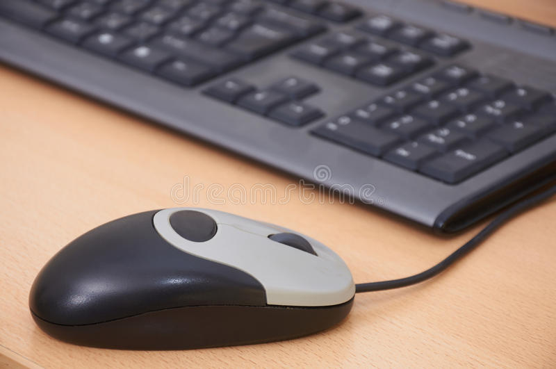 Download Computer Mouse And The Keyboard Stock Photo - Image: 24841436