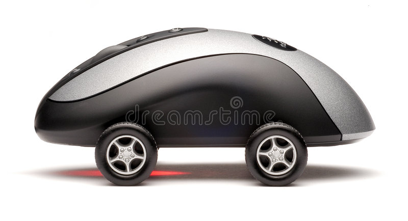 Download Computer Mouse Sports Car Technology Stock Photo - Image: 3293690