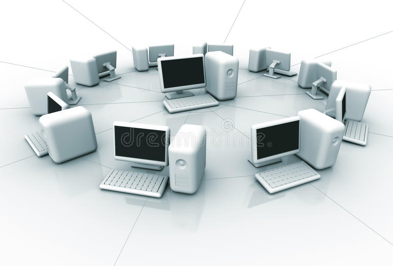 Computer Network Royalty Free Stock Photo