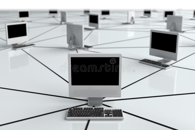 Computer Network Stock Photography