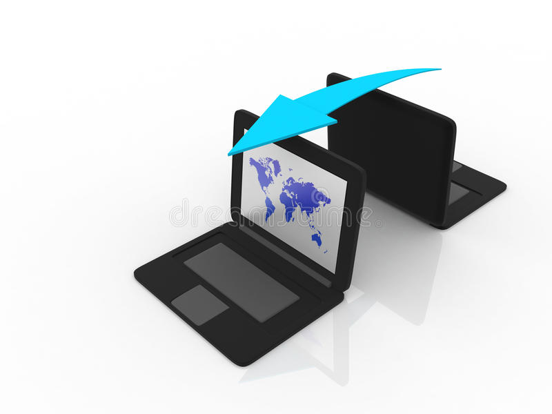 Download Computer Network stock image. Image of commerce, e, network - 27092305