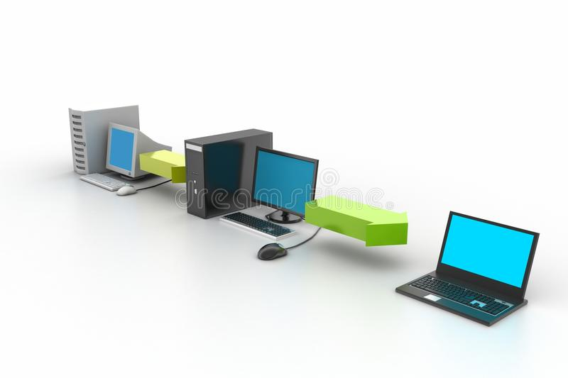 Download Computer Network stock image. Image of connection, communication - 36970549