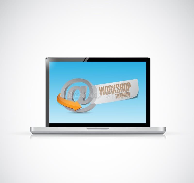 Download Computer Online Workshop Training Illustration Stock Illustration - Illustration of black, course: 39509054