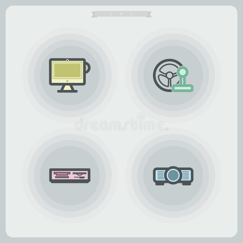 Free Computer Parts Stock Photography - 43367632