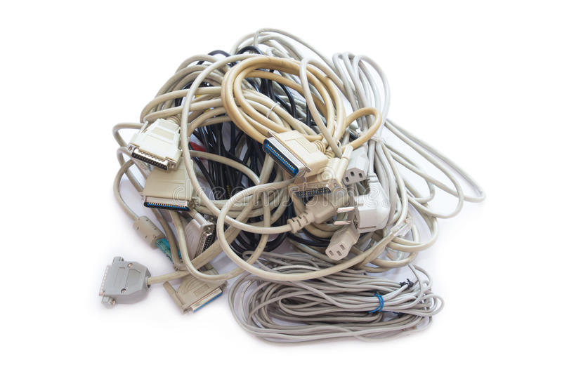 Computer Plugs. stock image. Image of isolated, networking - 46158527
