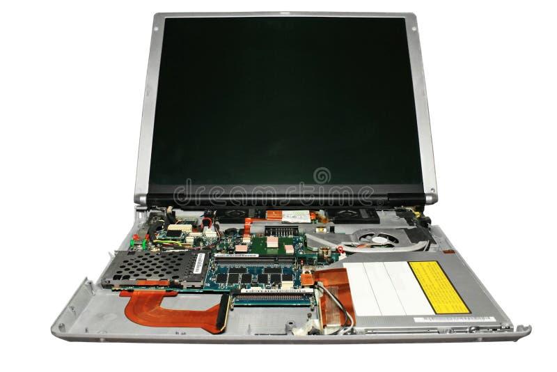 Computer portatile. fotografia stock libera da diritti
