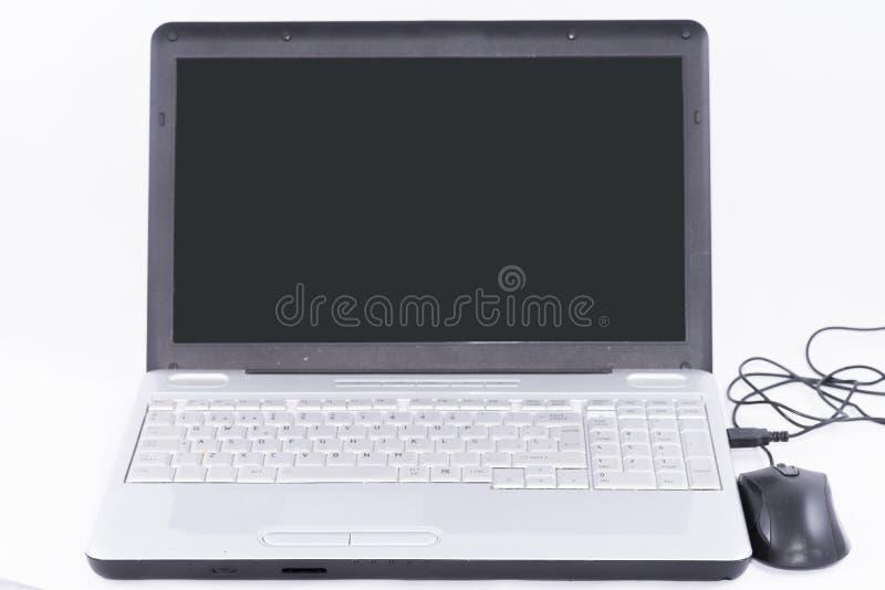 Download Computer portatile fotografia stock. Immagine di segno - 56875550
