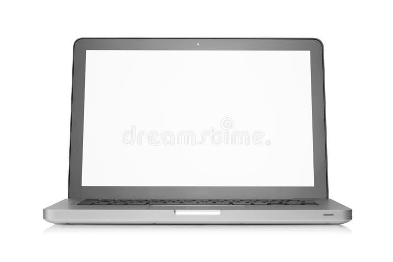 Computer portatile aggiornato immagini stock libere da diritti