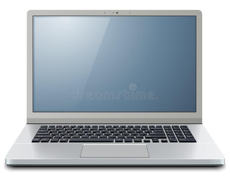 Computer portatile 3D illustrazione di stock
