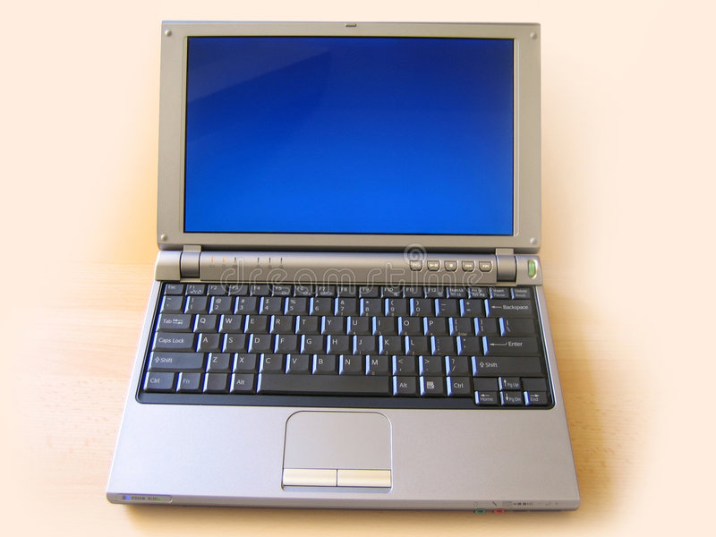 Computer portatile del SONY fotografie stock libere da diritti