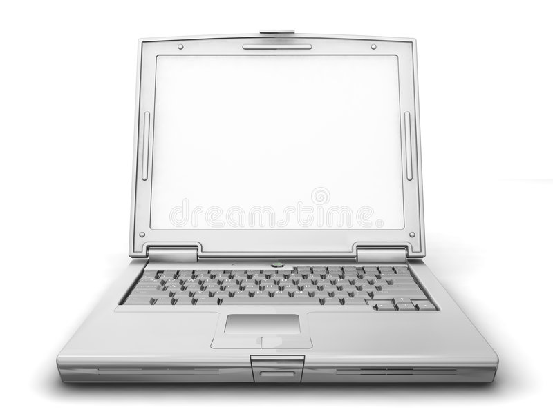 Computer portatile generico royalty illustrazione gratis
