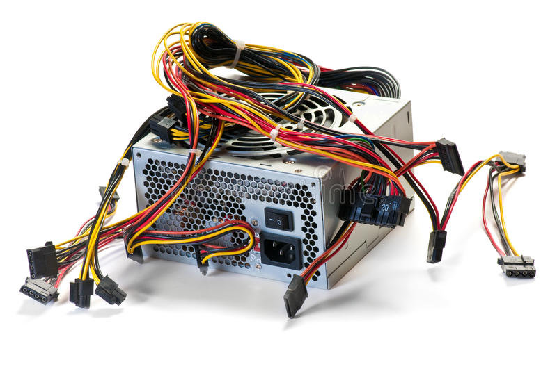 Download Computer power supply stock image. Image of nobody, output - 15856229