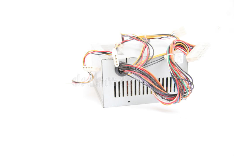 Download Computer power supply stock photo. Image of electricity - 25162036