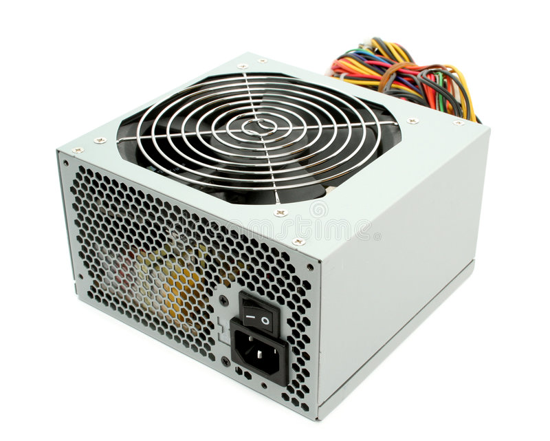 Download Computer Power Supply With Fan Stock Image - Image: 2680267