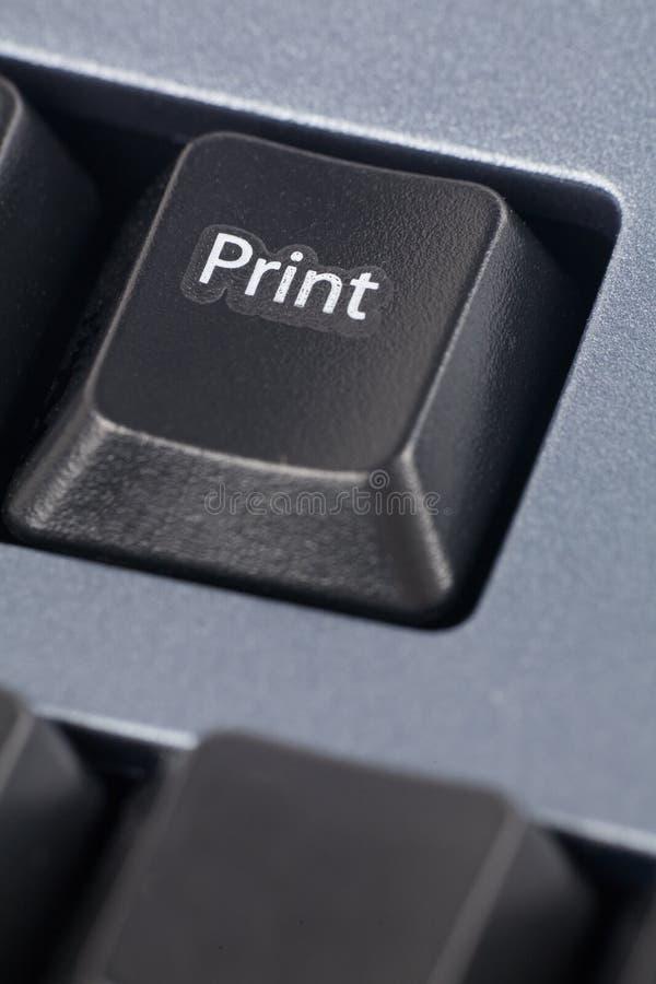 Computer print key stock photos