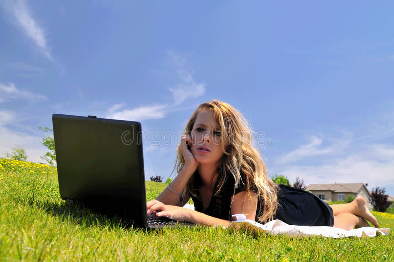 Download Computer problems stock image. Image of pretty, field - 11144781