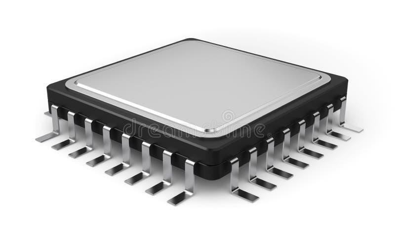 Download Computer processor stock illustration. Illustration of macro - 26573391