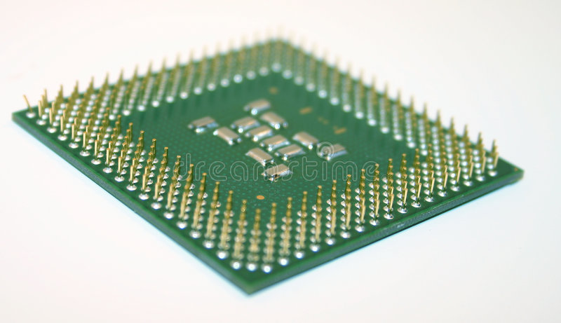 Computer processor royalty free stock photos
