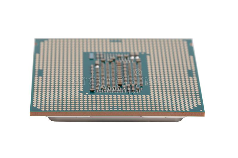 Computer processor 9th generation stock photos