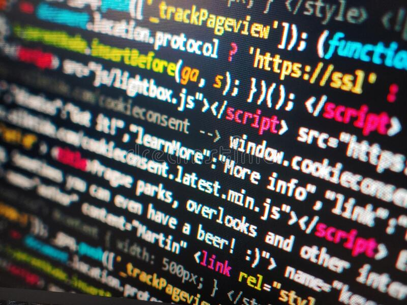 Computer Programmer Scripting Coders Scripts Codes Windows Microsoft  Programming Languages Code Language Scripts Hacking Hacks Hax Stock Image -  Image of codes, language: 175482935