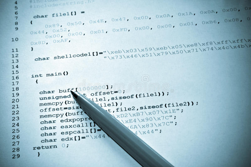 Download Computer programming stock image. Image of graphic, education - 15682171