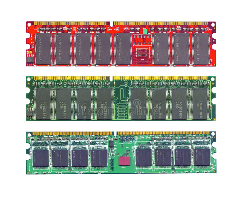 Free Computer Ram Memory High Resolution Scanned Royalty Free Stock Image - 15067746