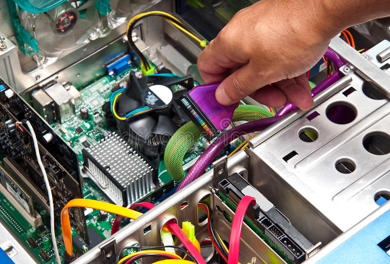 Download Computer Repair or Upgrade stock image. Image of technical - 19737991