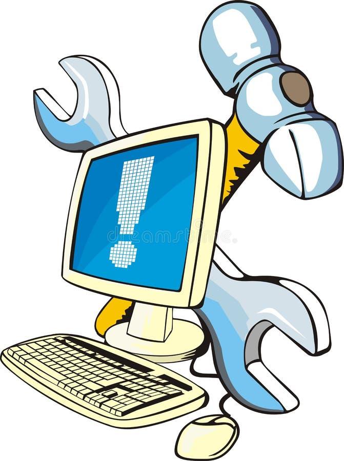 Download Computer repair stock vector. Illustration of virus, detail - 22263487