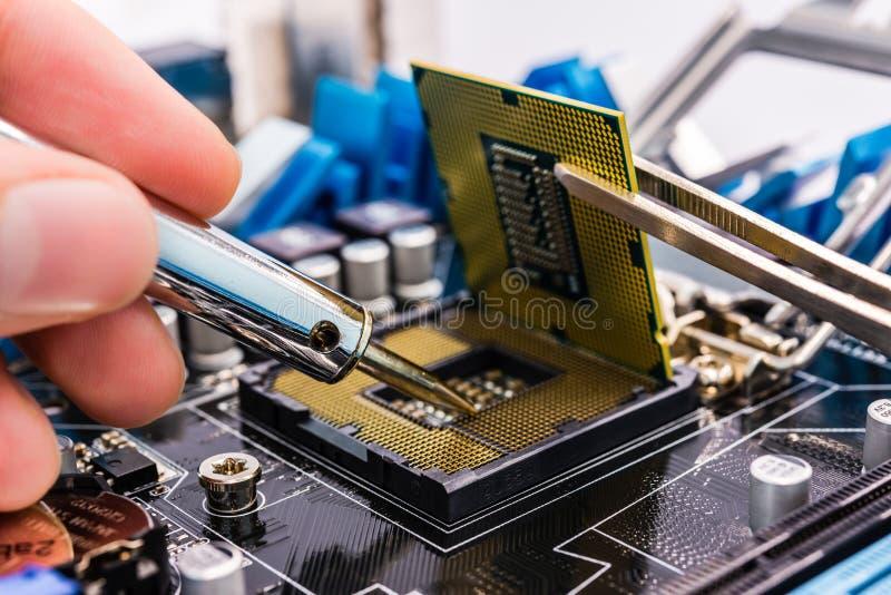 Download Computer repair stock photo. Image of protection, macro - 33675682